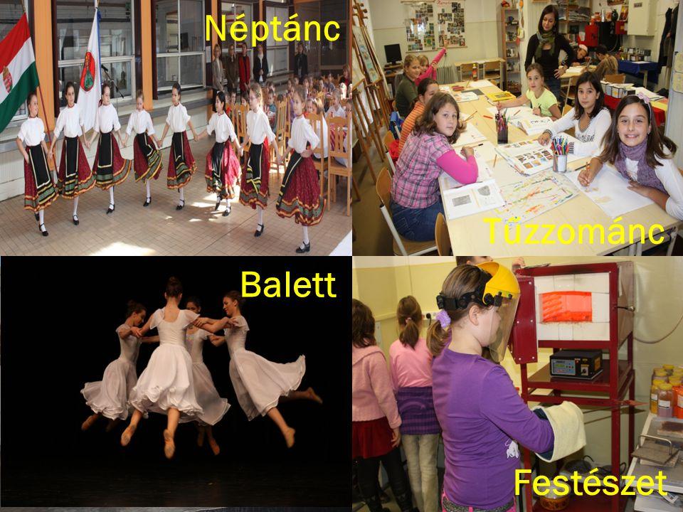 Néptánc Balett Festészet Tűzzománc