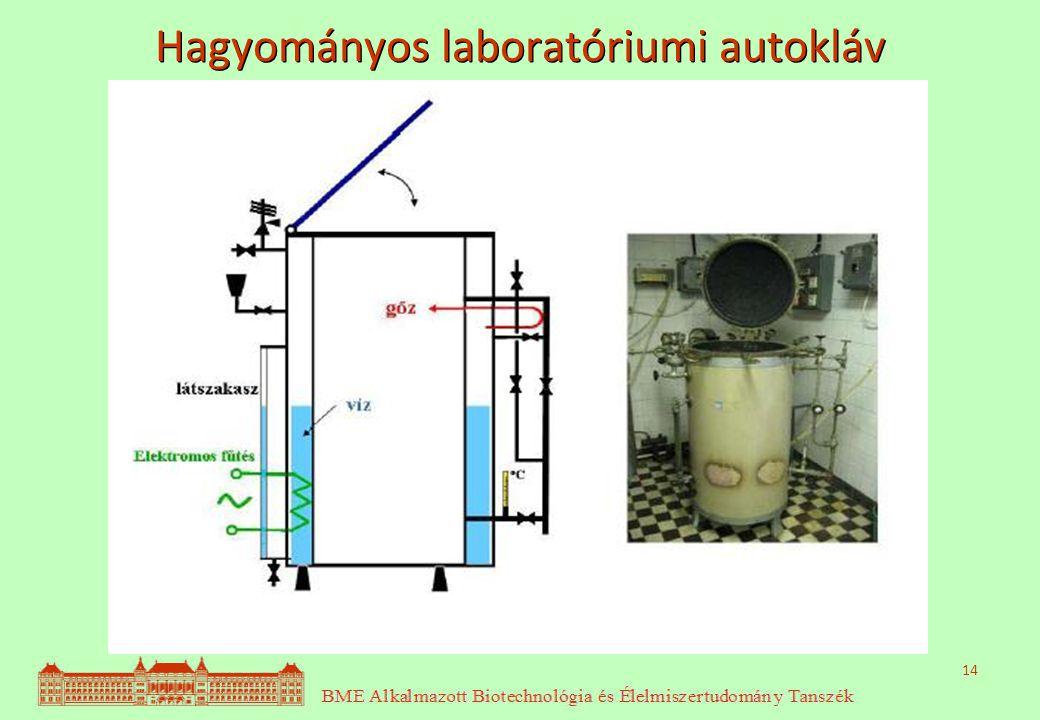 14 Hagyományos laboratóriumi autokláv