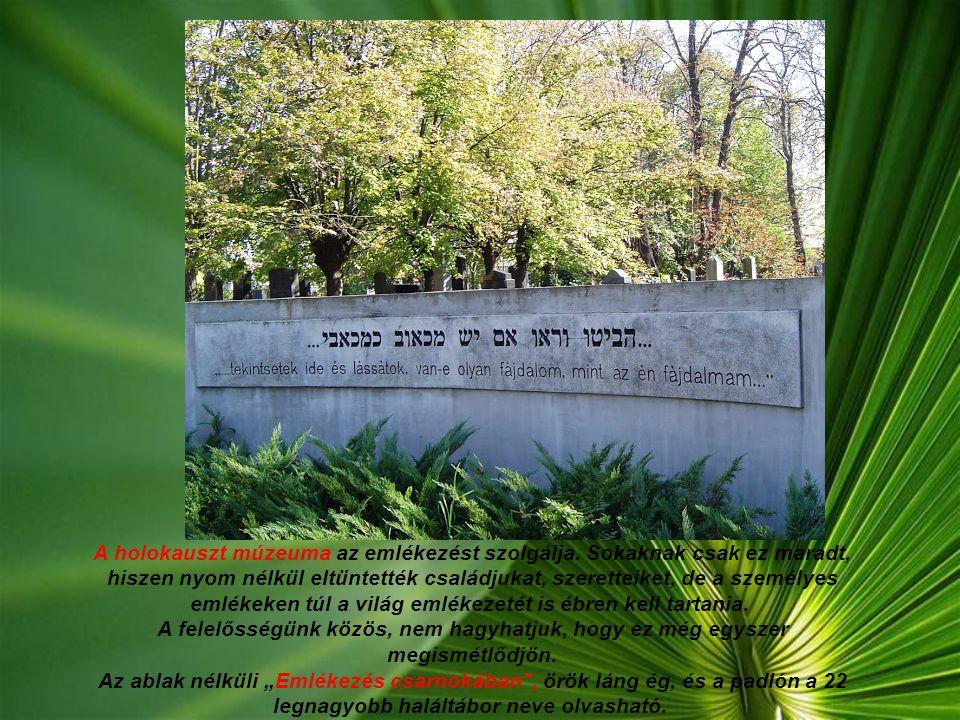 Yad Vashem Múzeum: