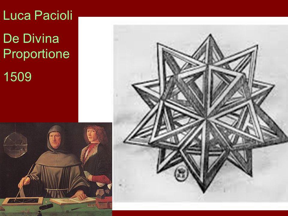 Luca Pacioli De Divina Proportione 1509