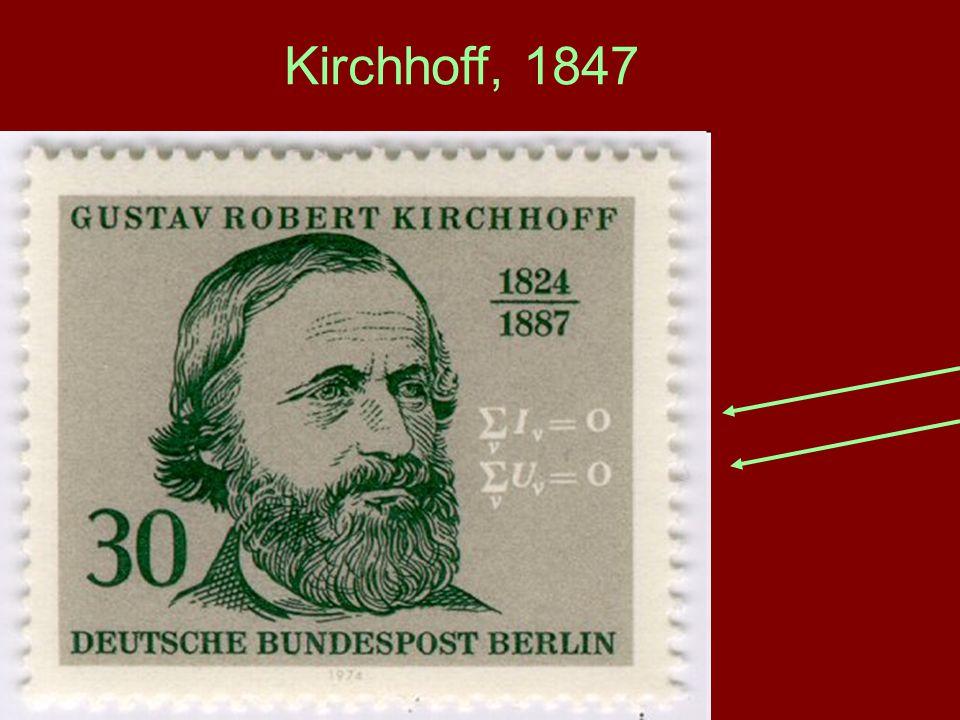 Kirchhoff, 1847