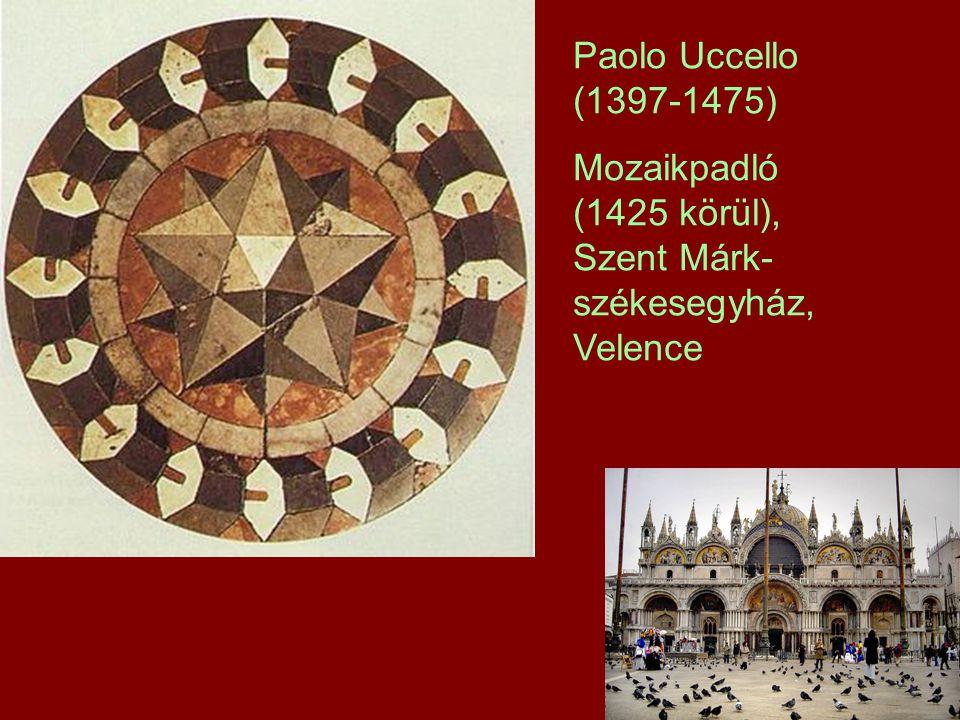 Paolo Uccello (1397-1475) Mozaikpadló (1425 körül), Szent Márk- székesegyház, Velence
