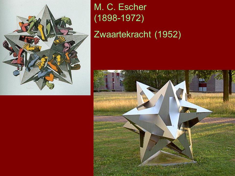 M. C. Escher (1898-1972) Zwaartekracht (1952)