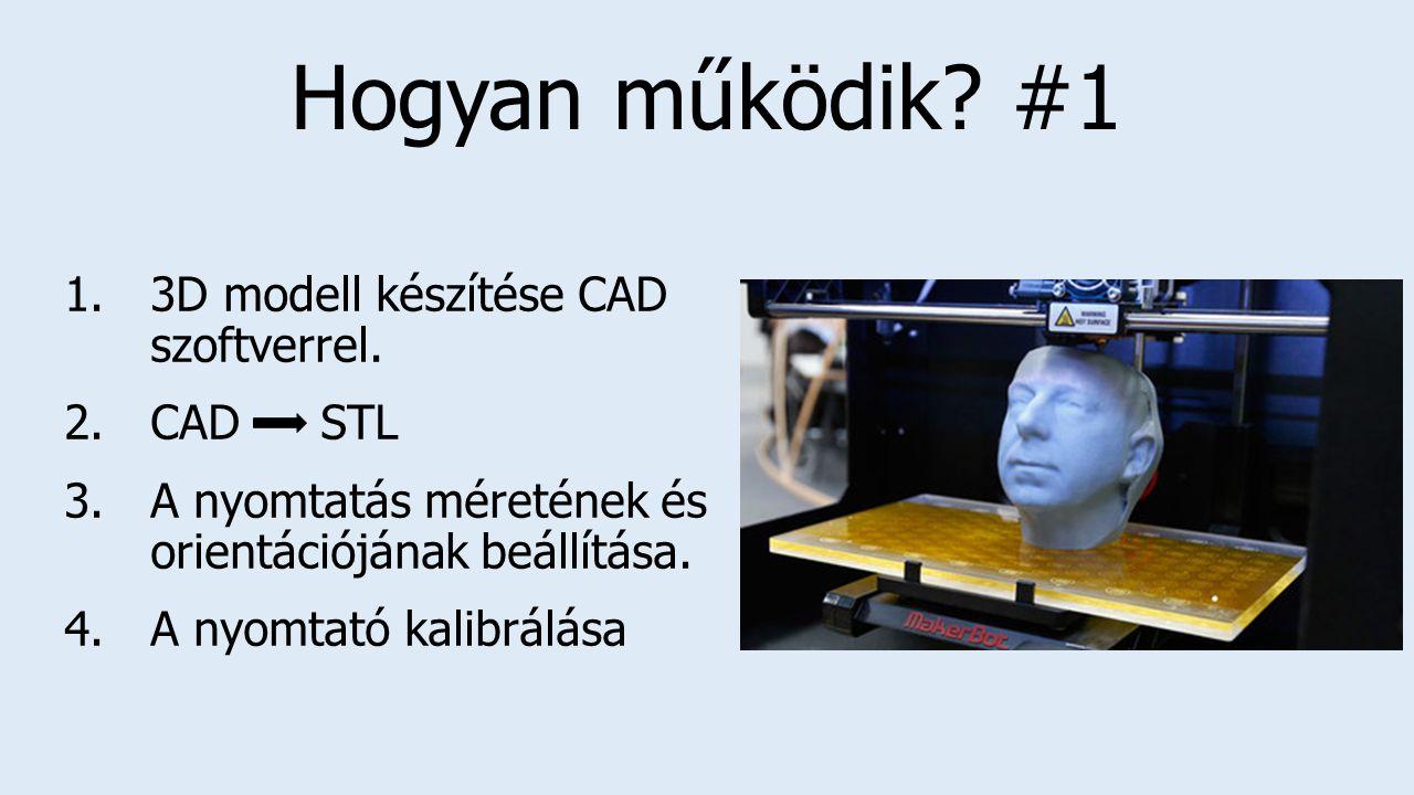 Hogyan működik.#1 1.3D modell készítése CAD szoftverrel.