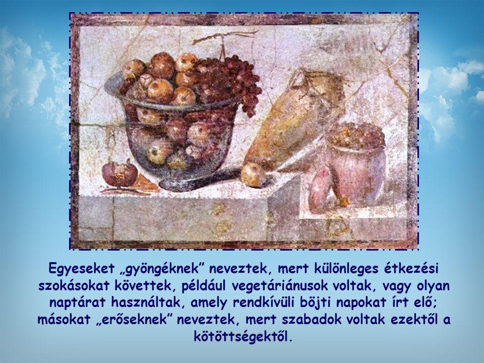 Voltak közöttük eredetileg zsidók, görögök, az antik római vallást követők, talán sztoikus és más filozófiai irányzatokat képviselők közül valók is. M