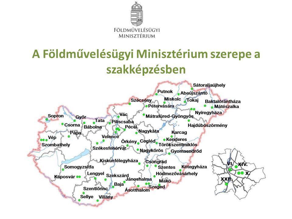 A Földművelésügyi Minisztérium szerepe a szakképzésben