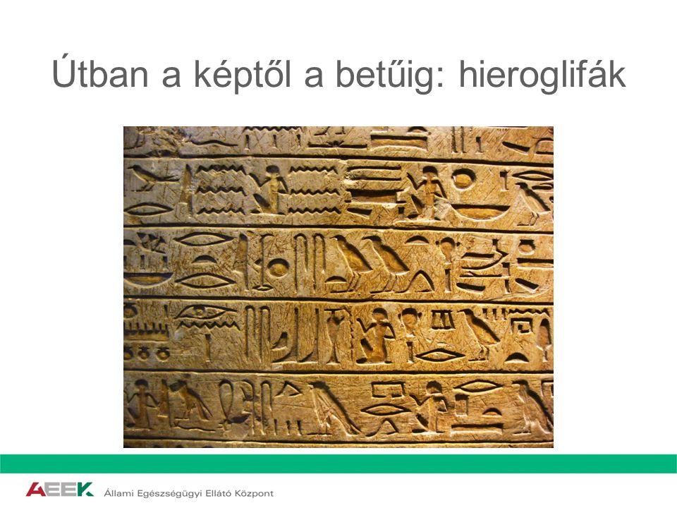A következő állomás: Hieratikus írás Szent szövegek lejegyzésére