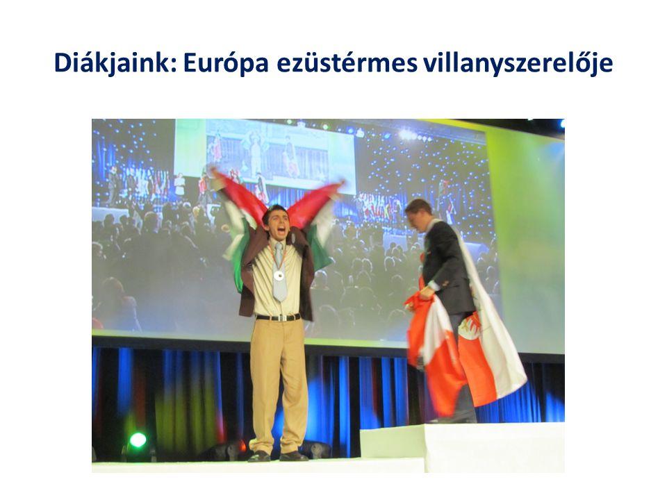 Diákjaink: Európa ezüstérmes villanyszerelője
