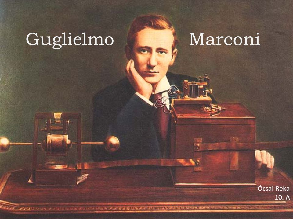 1909-ben megkapta a Fizikai Nobel- díjat a drót nélküli táviró feltalálásáért majd olasz szenátor és a még 1902- ben alakult Marconi Társaság elnöke lett