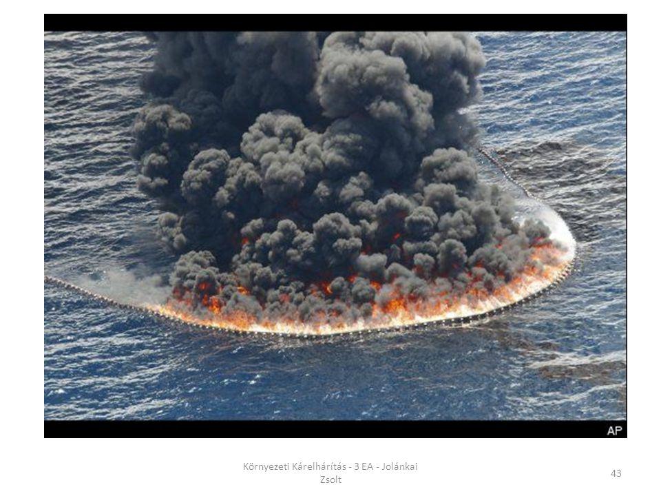 Környezeti Kárelhárítás - 3 EA - Jolánkai Zsolt 43