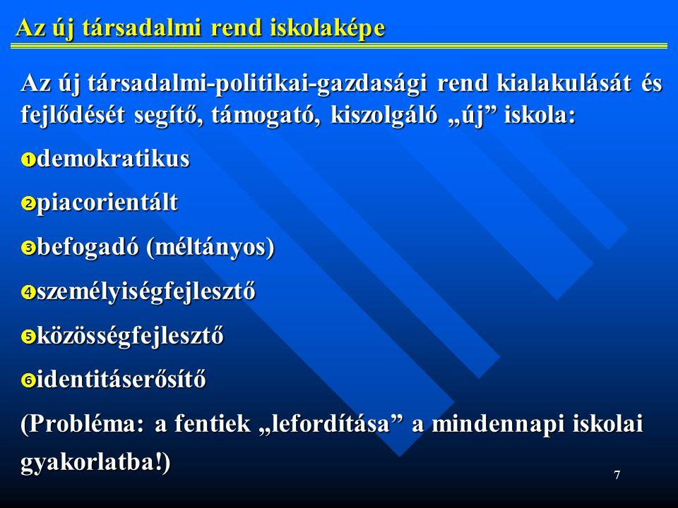48 A magyar iskola esélyei, közös felelősségünk Teendőink:  oktatáspolitikai téren: az optimális szlovákiai magyar iskolahálózat megtartása és működése feltételeinek iskolahálózat megtartása és működése feltételeinek (személyi, anyagi, irányítás, döntéshozatal, …) a (személyi, anyagi, irányítás, döntéshozatal, …) a biztosítása az önigazgatás elemeinek fokozatos biztosítása az önigazgatás elemeinek fokozatos erősítésével erősítésével cél: minden felvidéki magyar gyermek számára elérhető cél: minden felvidéki magyar gyermek számára elérhető közelségben legyen magyar óvoda, alap- és középiskola közelségben legyen magyar óvoda, alap- és középiskola