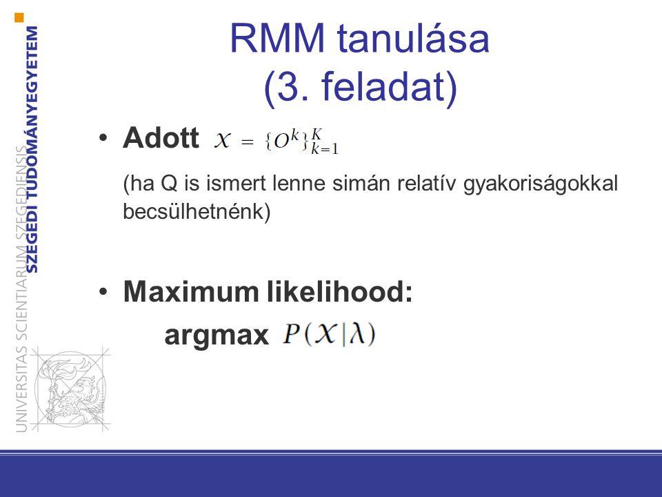 RMM tanulása (3.
