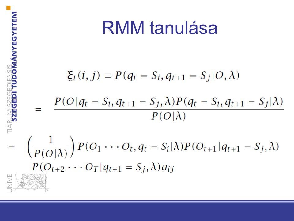 RMM tanulása