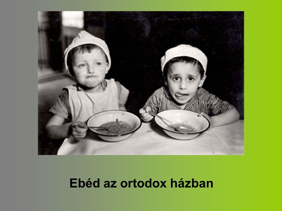 Ebéd az ortodox házban