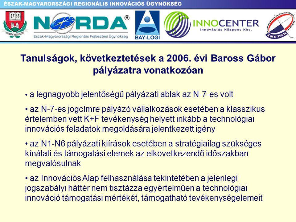 Tanulságok, következtetések a 2006.