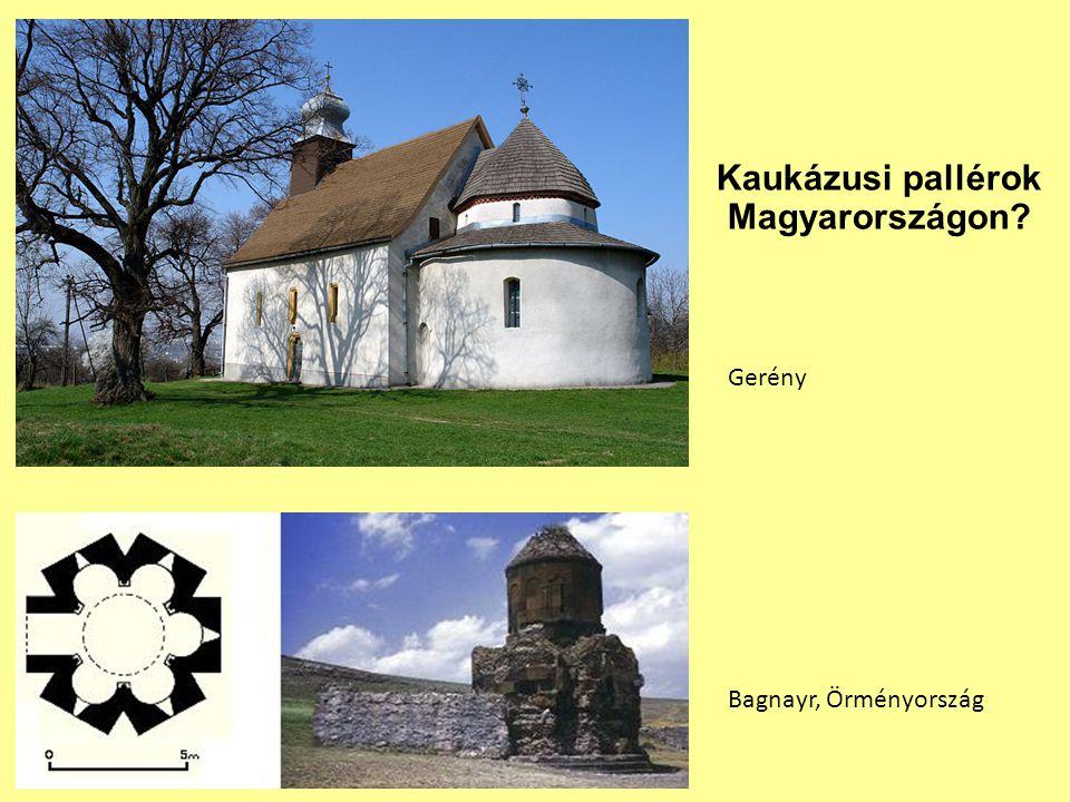 Kaukázusi pallérok Magyarországon? Gerény Bagnayr, Örményország