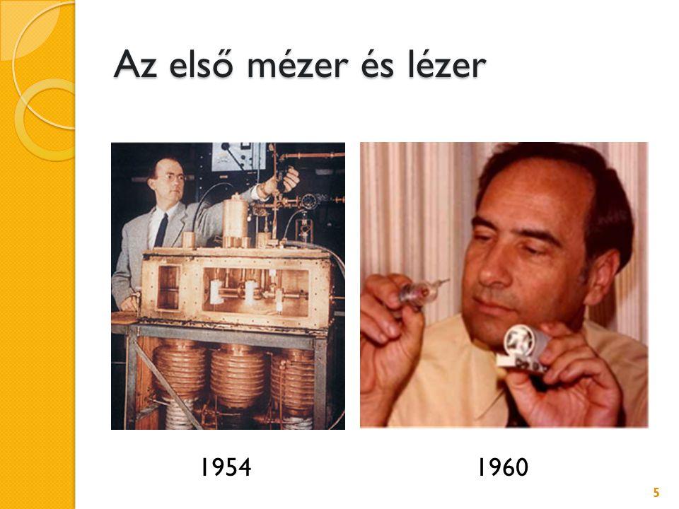 Az első mézer és lézer 5 19541960