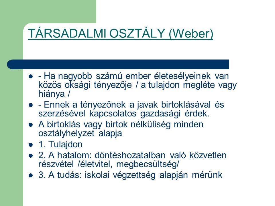 Magyarország 1945 után Sztálini modell: 2 osztály : munkásosztály parasztság 1 réteg : értelmiség ( velük szövetséges ) 1962-től KSH : társadalmi rétegződés vizsgálat.