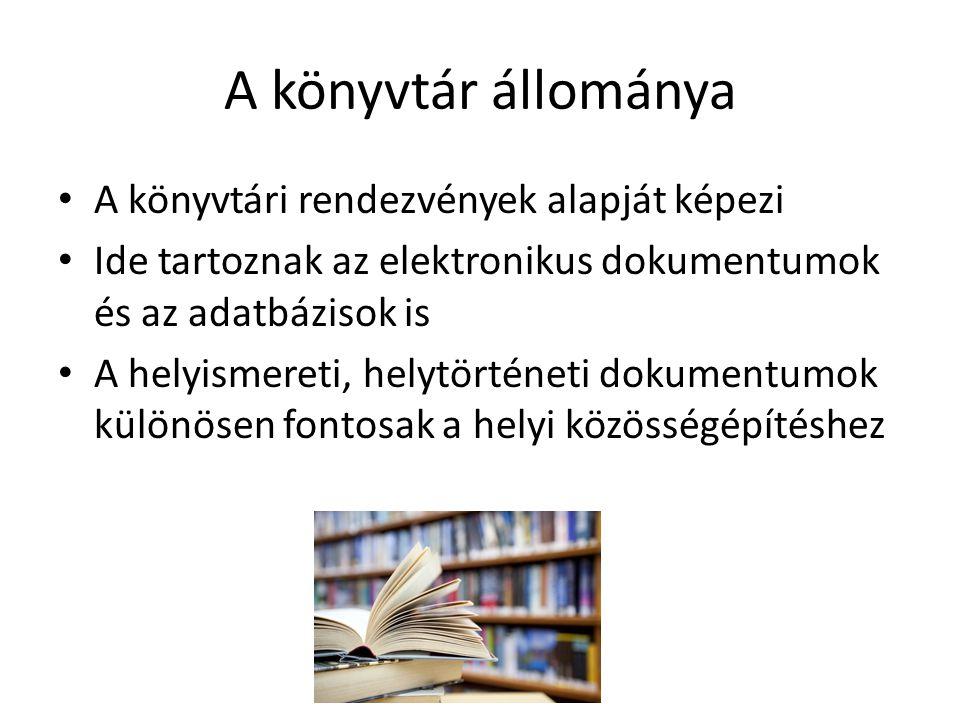 A könyvtári rendezvényszervezés folyamata