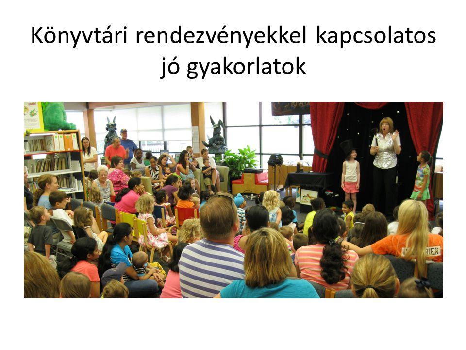A kisgyermekeket megcélzó könyvtári rendezvények A könyvtár reklámozása, könyvtárismereti foglalkozás –Ismerkedünk a könyvtárral (Dr.