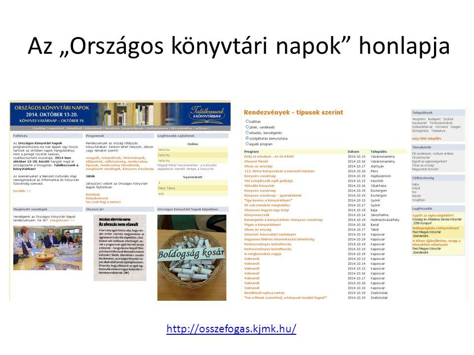"Az ""Internet Fiesta honlapja http://fiesta.kjmk.hu"