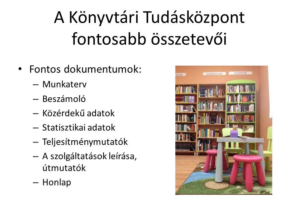 Jó gyakorlatok Bács-Kiskun Megyei Könyvtárellátási Szolgáltatás www.kjmk.huwww.kjmk.hu Csorba Győző Megyei Könyvtár (Baranya megye) http://baralib.hu/baranya-megyei- halozati-osztaly http://baralib.hu/baranya-megyei- halozati-osztaly