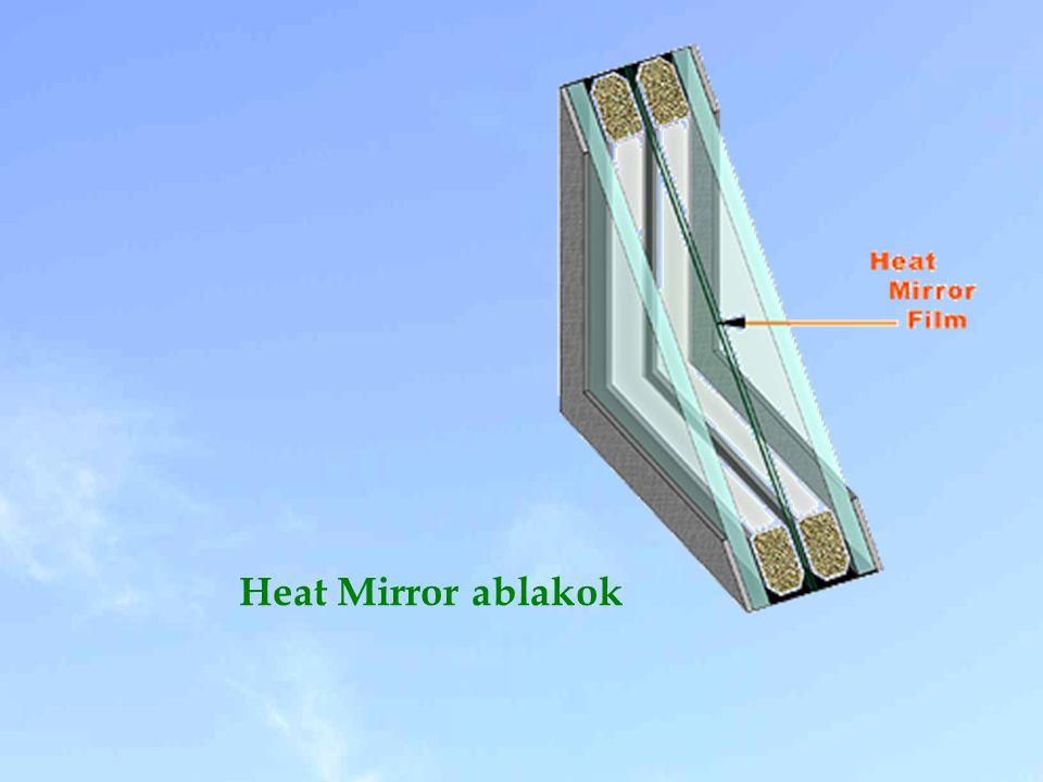 Heat Mirror ablakok