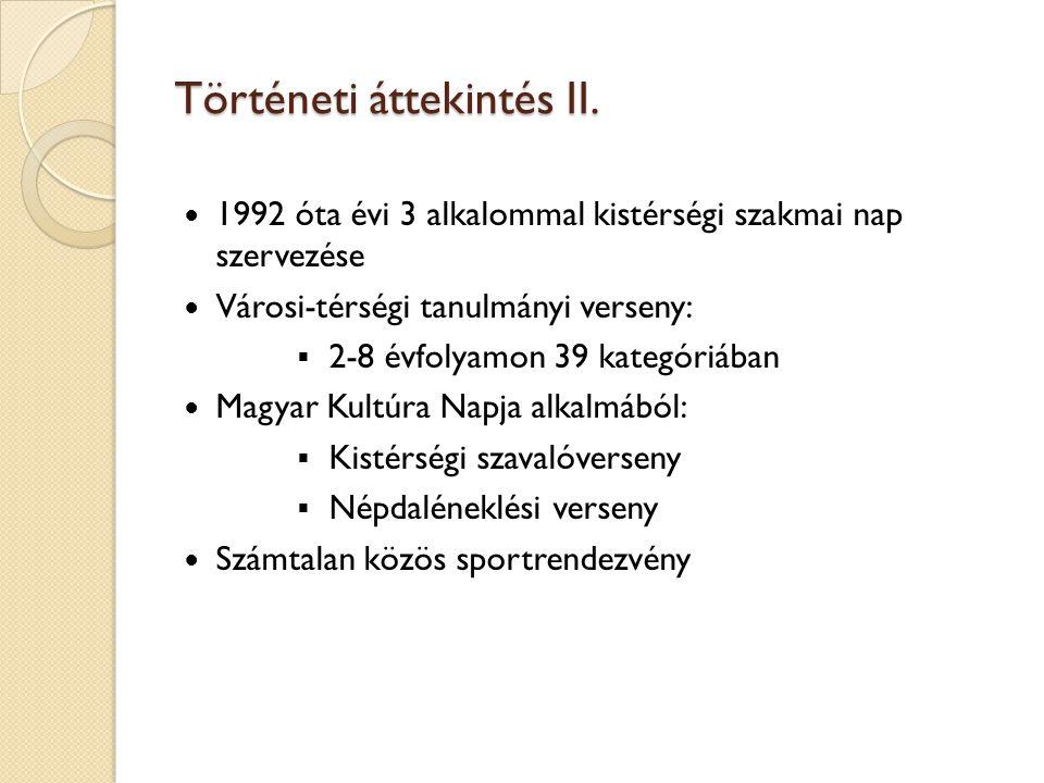Történeti áttekintés III.