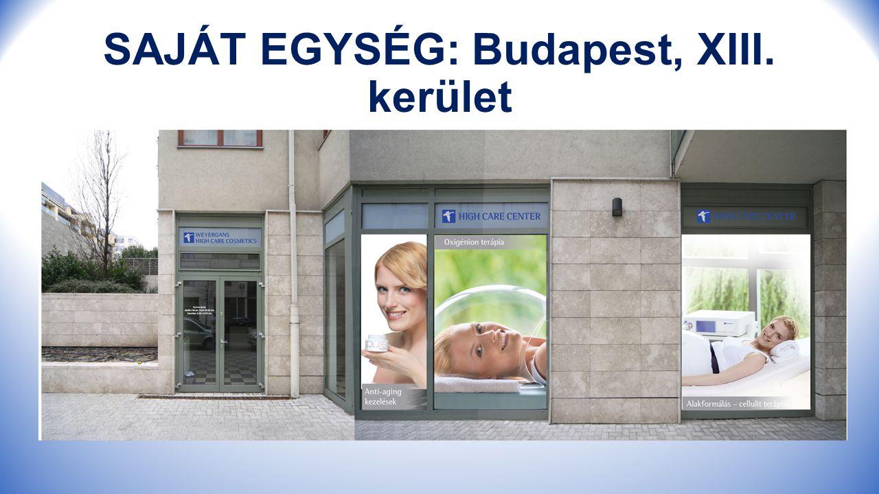 SAJÁT EGYSÉG: Budapest, XIII. kerület