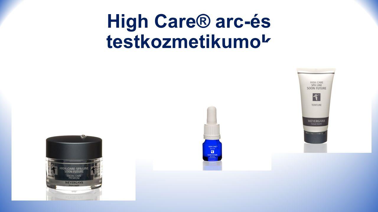 High Care® arc-és testkozmetikumok