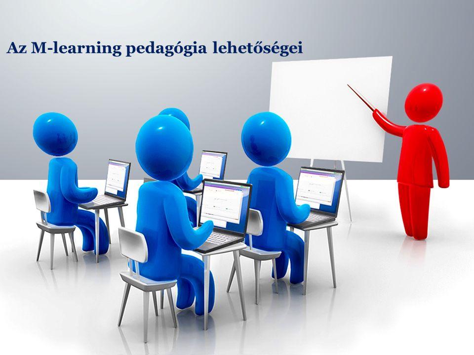 Az M-learning pedagógia lehetőségei