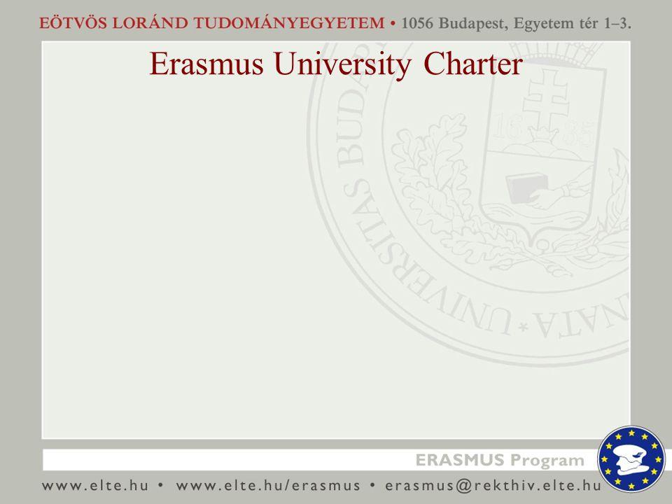 Erasmus University Charter
