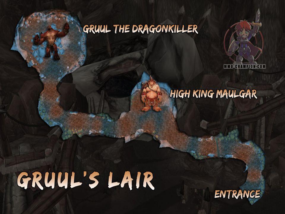 High King Maulgar (Warrior) Melee sebzése 4000 plate-be Health: 531,160 Arcing Smash: Megüt mindenkit kúp alakban maga elött, 4000-12.000 fizikai sebzés plate-be.
