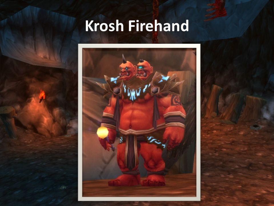 Krosh Firehand (Mage) Health: 212,450 Greater Fireball: 8550-9450 tűz sebzés.