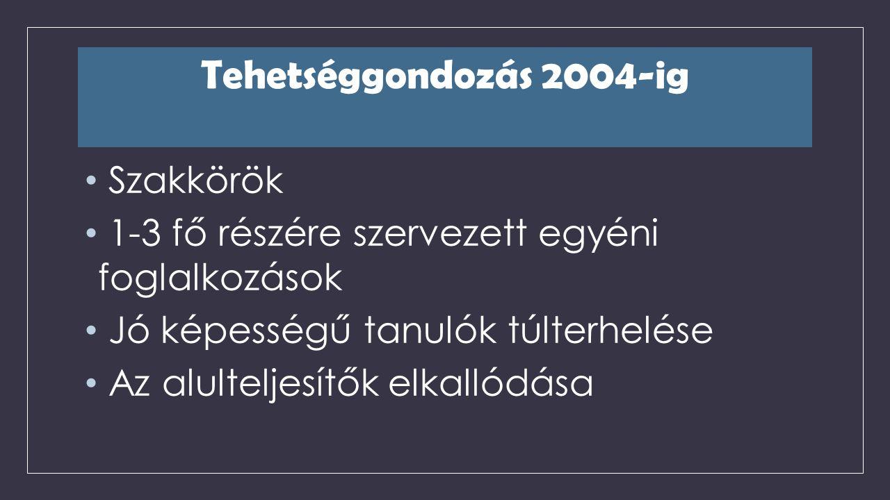 2005/2006-os tanév Komplex tehetséggondozás bevezetése Mérésekre alapozott fejlesztés Debreceni Egyetem Pedagógiai - Pszichológiai Tanszék Dr.