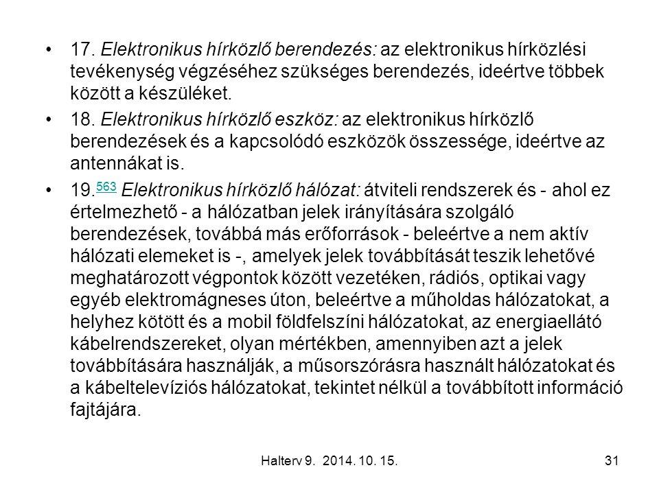 Halterv 9. 2014. 10. 15.31 17.