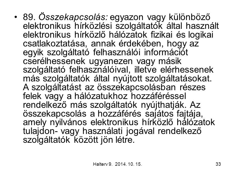Halterv 9. 2014. 10. 15.33 89.