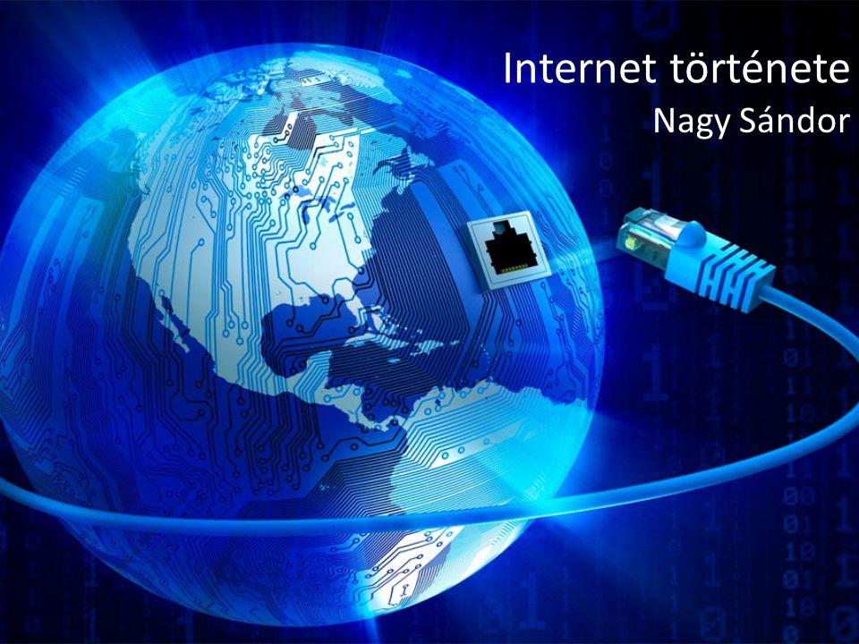 Internet története Nagy Sándor