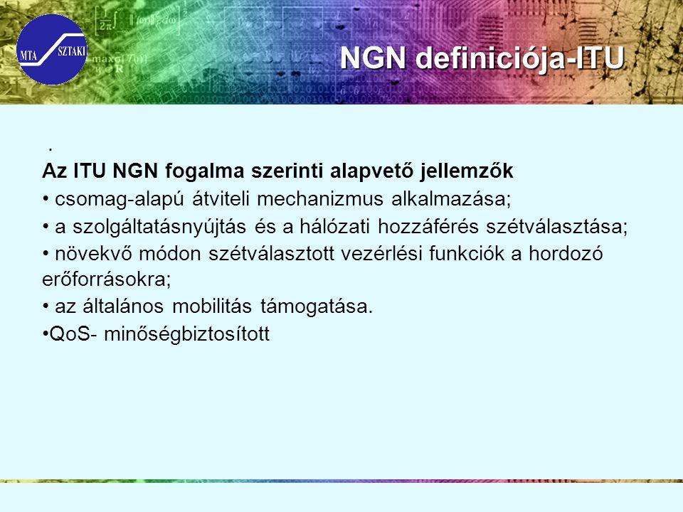 NGN definiciója-ITU NGN definiciója-ITU.