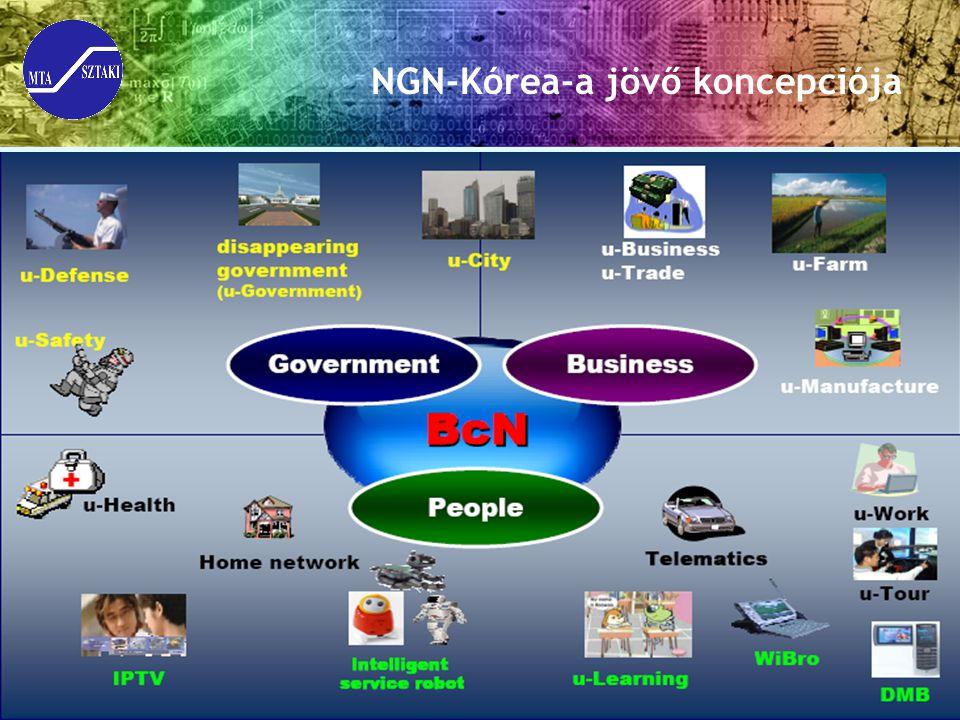 NGN-Kórea-a jövő koncepciója