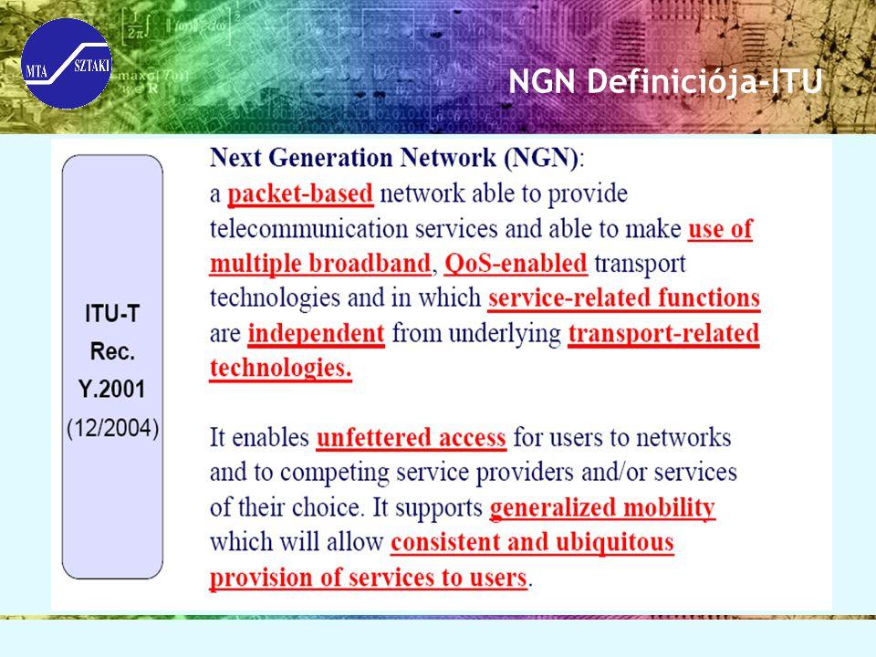 NGN Definiciója-ITU