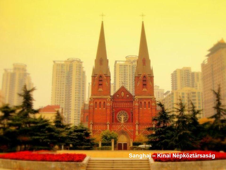 Sanghaj – Kínai Népköztársaság