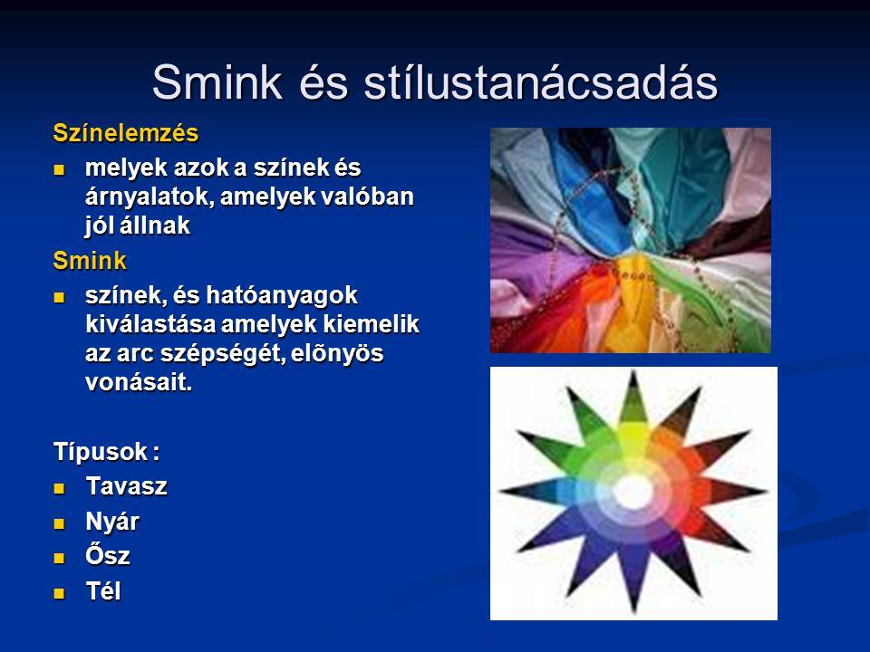 Smink és stílustanácsadás Színelemzés melyek azok a színek és árnyalatok, amelyek valóban jól állnak melyek azok a színek és árnyalatok, amelyek valób