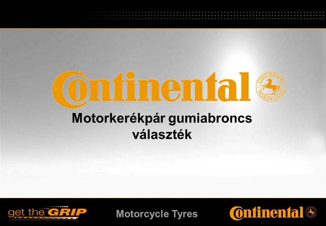 Motorcycle Tyres ContiEscape A high performance road tyre for off-road bikes. ContiEscape
