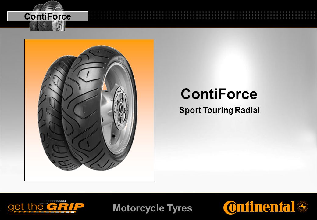 Motorcycle Tyres ContiForce Sport Touring Radial ContiForce