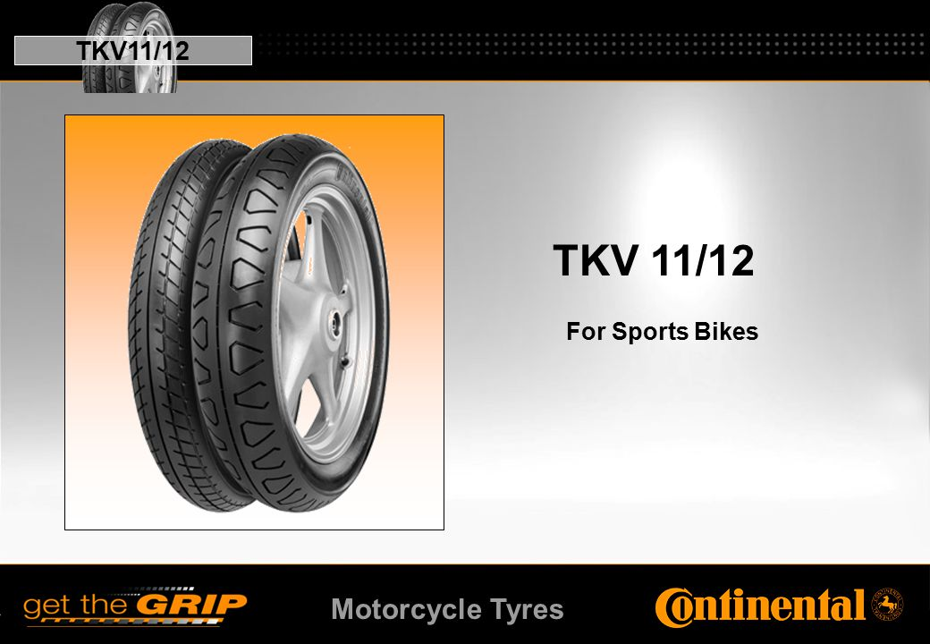 Motorcycle Tyres TKV 11/12 For Sports Bikes TKV11/12