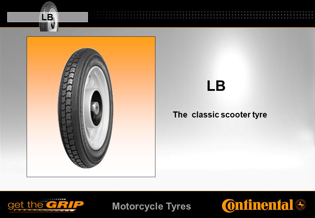 Motorcycle Tyres LB The classic scooter tyre LB