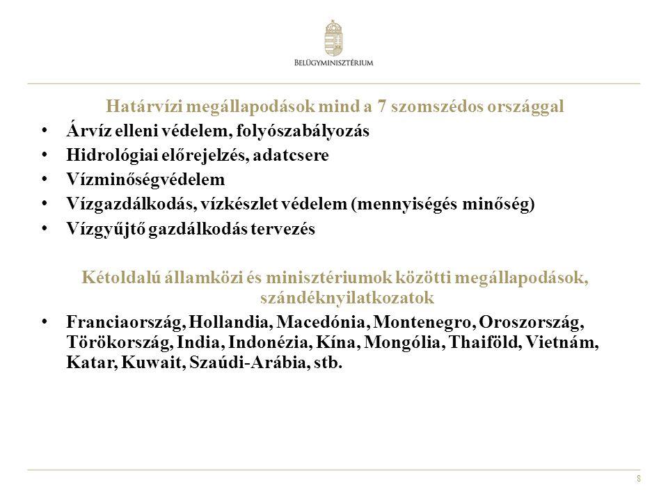 9 Az Európai Parlament és Tanács 2000/60/EK sz.