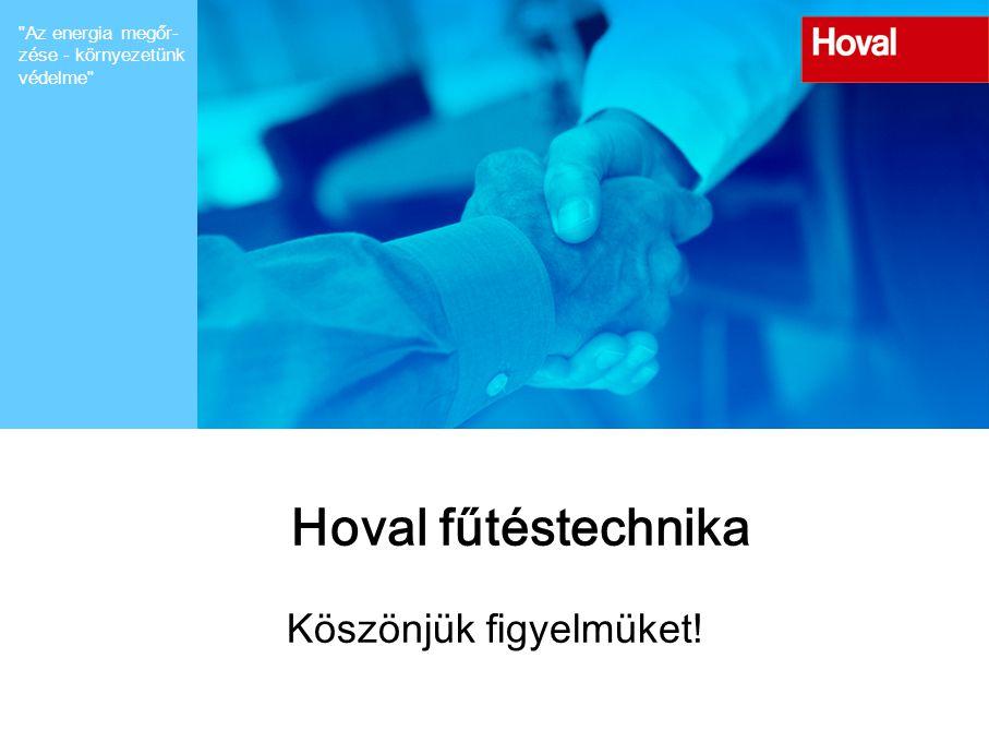 Hoval Heiztechnik Vielen Dank für ihre Aufmerksamkeit