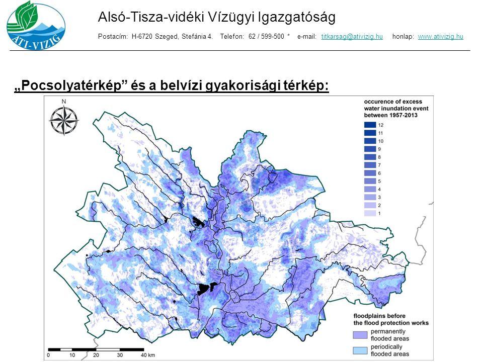 A belvizekkel kapcsolatos károk megelőzése: Mérnöki létesítmények – vízelvezető rendszer: Alsó-Tisza-vidéki Vízügyi Igazgatóság Postacím: H-6720 Szeged, Stefánia 4.